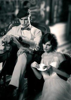 """Se você é fã da tendência vintage, não pode perder a estréia de """"O Grande Gatsby"""" e conferir  um look de noiva todo inspirado no filme! Sem dúvida, a tendência anos 20, segue dentro das tendências de vestidos de noiva para 2014."""