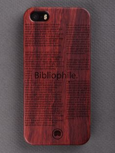 Buy Bibliophile Engraved Wooden Smartphone Case Online for Bombay Trooper, Wooden Phone Case, Bibliophile, Laser Engraving, Smartphone, Iphone Cases, Iphone Case, I Phone Cases