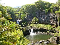 Oheo Gulch, Road to Hana, Island of Maui. www.aloha-hawaiian.com #hawaii #maui #mauiallinclusive #hawaiihoneymoondestinations