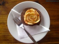 Our apple tarte in Melbourne cafe hunters!