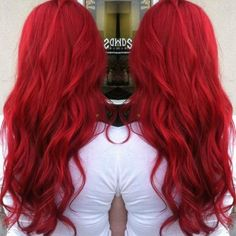 Ariel Red...love this color and curls ❤️