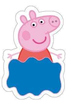 + 10 Convite de aniversário grátis para baixar PEPPA PIG  => Muchas ideas increíbles como ésta directamente en este tablero. Te las vas a perder?