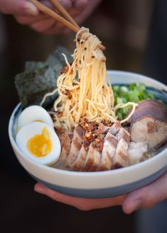 Take your taste buds on a trip to Japan with your very own Ramen with Garlic Togarashi recipe.