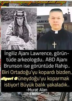 The British spy Lawrance was an archaeologist. The US spy Bronson was a pastor. The game is still going on. Islam, British, Movie Posters, Game, Twitter, Pastor, Turkey, Pictures, Film Poster