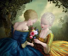 The world of Mary Antony: The pop surrealism by Ray Caesar