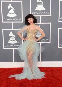 Grammys 2013 Alfombra Roja - Peor Vestidas | Ella es Fashion - Kimbra