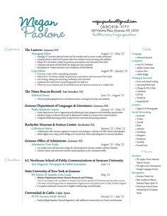 Nice resume design