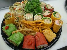 Sandwiches and wraps for your next in-office meeting by Saint Germain Catering, via Flickr