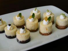 Cheesecake Bites, Three Ways