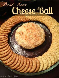 Best Ever Cheese Ball on MyRecipeMagic.com