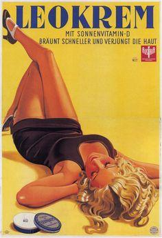 #Women in #Vintage #Advertising #Posters