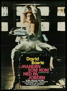The man who fell to earth David Bowie, Moonage Daydream, Concert Posters, Movie Posters, Goblin King, King David, Film School, Sound & Vision, Artists