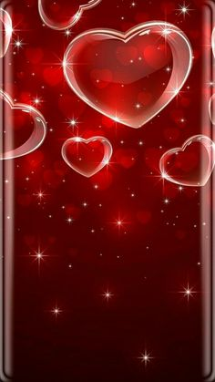 Wallpaper… By Zirkuskünstler Unknown… Source by Heart Iphone Wallpaper, Red Wallpaper, Cellphone Wallpaper, Wallpaper Backgrounds, Love Heart Images, Heart Pictures, Wallpaper Fofos, Heart Bubbles, Hearts And Roses
