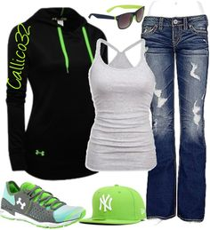 """""""Under Armour #5"""" by callico32 on Polyvore"""