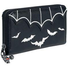 "Portafoglio ""Bat Wallet"" del brand #Banned."