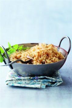 Riz pilaf au curry