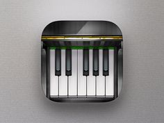 Icon Piano App Gismart by Denis