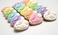 Your place to buy and sell all things handmade Vanilla Cookies, Iced Cookies, Royal Icing Cookies, Cupcake Cookies, Chocolate Cookies, Sugar Cookies, Easter Cupcakes, Easter Cookies, Easter Treats