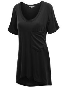 75c117b06 Doublju - Doublju Womens Short Sleeve Oversized T-Shirt Dress - Walmart.com