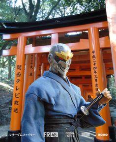 Gambar mungkin berisi: satu orang atau lebih dan luar ruangan Urban Samurai, Cyberpunk, Father, Drawings, Hats, Photography, Instagram, Pai, Photograph