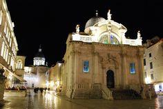 Church of St. Blaise, dedicated to the city's patron saint. Dubrovnik, Croatia - Dubrovnik