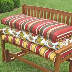 Blazing Needles 5ft. Outdoor Bench Cushion