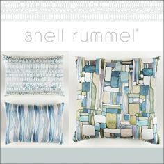 Designer Shell Rummel silk Pillow Collection available via @suryasocial ~ Launching at High Point Market #surya #shellrummel #pillows #homedecor #interiordesign #hpmkt