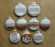 Vianočné Crazy Cookies, Christmas Cookies, Rag Quilt, Sugar Art, Diy Christmas Ornaments, Royal Icing, Cookie Decorating, Gingerbread, Food And Drink