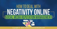 #NegativeReviews on social media need proper handling! Learn how in this article.