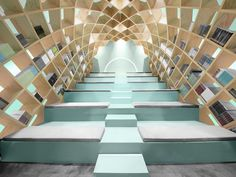 MONTERREY – For this Libreria Conarte bookstore in Mexico, the designers at Anagrama imagined it as a nook where visitors can lose themselves in a book. This space was designed to promote the experience of reading, with an emphasis on 'experience'. Located in a renovated hacienda, the design preserves existing stone walls, wooden ceiling beams and old window frames.The architects poured the floors and stairs in concrete and crafted the new furniture and bleachers from pine plywood. The…