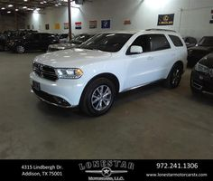 https://flic.kr/p/Ssi6Q1 | This 2015 Dodge Durango Limited is a roomy Family SUV. We take Pride here at Lone Star Motors Used Cars in what we offer our clients, it has a clean CarFax! Call J.C. Hernandez (214)723-4366