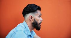 Achieve this beard and hairstyle with this