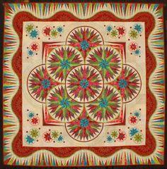 Quilt Odyssey - SUPER STAR BY MARILYN BADGER