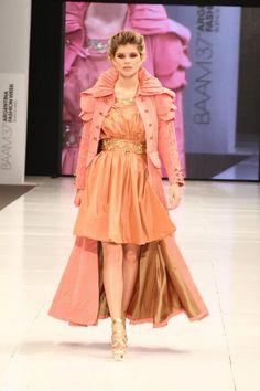 """Patricia Yujra, Finalista Concurso """"Yo, el joven creador de moda"""" - BAAM Primavera Verano 2012/13"""