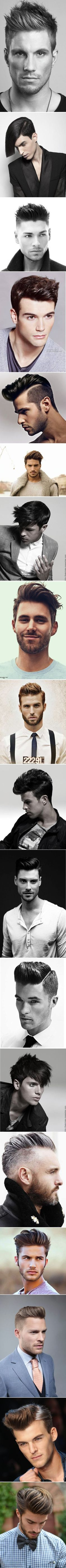 Gorgeous hairstyles for men!