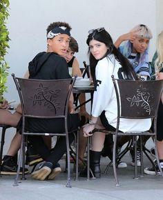 Jaden Smith, Kylie Jenner, Willow Smith and Moisés Arias