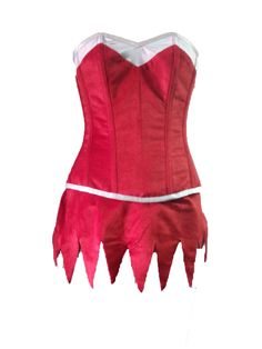 Eurotique new Santa Helper Elf corset, available or course in Green