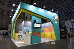 OceanDesign-SmartCity- Exhibition Design-Stand #Booth #Design #Sky Mirror #IoT #Telecom