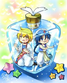Tags: Anime, Pixiv, Mo Xue Qian Xi, MAGI: The Labyrinth of Magic, Aladdin (Magi)