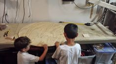 Making a Childrens Hover Craft: Tale of a Maker and his Apprentices