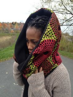 Check out this item in my Etsy shop https://www.etsy.com/listing/239322975/pink-and-green-african-winter-scarf