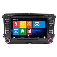 Free Shipping Car Radio DVD GPS Bluetooth For VW Volkswagen Passat B5 B6 Jetta Polo Jetta Touran Golf Tiguan CC GPS Radio