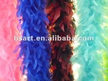 colorful Feather boa / curly ostrich feather boas party supplies