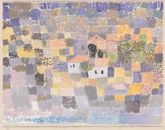 Sicilian Landscape (Sicilische Landschaft) - Paul Klee [1924]