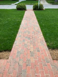 Straight as a arrow! Pave a path to the street with colorful pathway full range pavers.