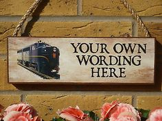 Personalised #model railway sign #model #trains #gifts for men #gifts for him n gau,  View more on the LINK: 	http://www.zeppy.io/product/gb/2/391460043672/