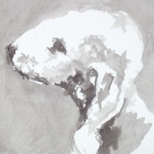 View By Breed - Bedlington Terrier - Dogs in Art at the StockBridge Gallery