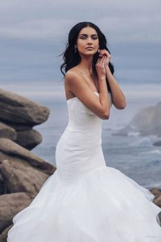 Disney Wedding Dresses 2020 - a beautiful collection of Disney Wedding Dresses and gowns from the Fairytale Wedding Collection. Browse these 16 Disney Wedding Dresses and Gowns inspired by the Disney Princesses Belle, Tiana, Snow White, Cinderella and Tiana. Disney Wedding Dresses, Dream Wedding Dresses, Designer Wedding Dresses, Bridal Dresses, Bridesmaid Dresses, Disney Weddings, Disney Jasmine, Ariel Dress, Bridal Photography