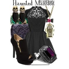 """""""Haunted Mansion"""" by lalakay on Polyvore"""
