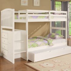 Angelica bunkbed + trundle Such a clever design